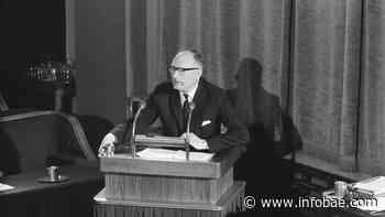 La Fundación Wallenberg recuerda a un político singular: Johan Van Hulst - infobae
