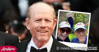 Ron Howard Looks Radiant as He Poses with Daughter Bryce in Matching Caps - AmoMama