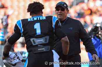 Ron Rivera: Circumstances didn't allow for team to go after Cam Newton