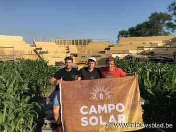 Amfitheater tussen de maïsstengels opent met Flip Kowlier - Het Nieuwsblad