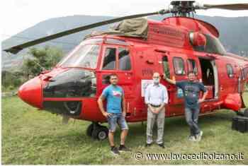Merano: l'eliporto di Maia Bassa verrà ampliato a 9mila metri quadrati - La Voce di Bolzano