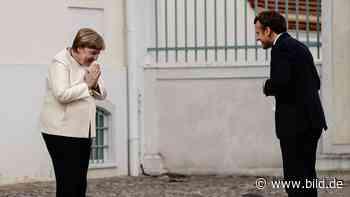 Coronavirus: Merkel und Macron sprechen über Wiederaufbau Europas - BILD