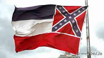 Rassismus-Debatte - Mississippi ändert seine Flagge - BILD