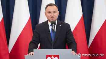 Polen wählen ihren Präsidenten: Duda bangt um seine Wiederwahl - BILD