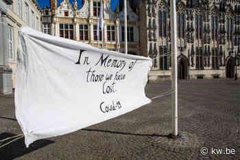 Herdenkingsplek voor Brugse coronaslachtoffers