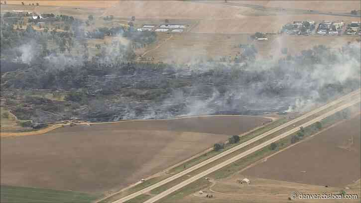 I-70 Reopens, Evacuations In Place For Bradbury Krebs Fire Burning Near Byers