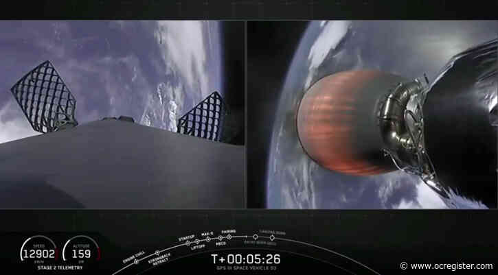 SpaceX launches US Space Force satellite