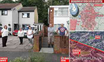 Coronavirus UK: Leicester lockdown splits communities