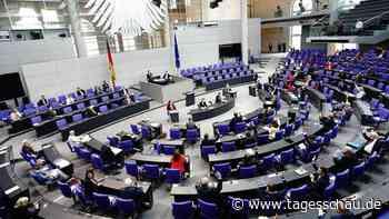 Aufgeblähter Bundestag: Union will Zahl der Wahlkreise reduzieren