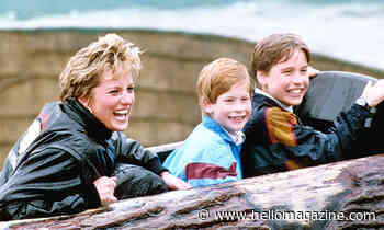Princess Diana's sweetest mum moments with sons William and Harry – video