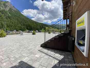 A Livigno da domani in funzione il nuovo Atm Postamat - Prima la Valtellina