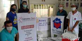 Rotary de Lagoa da Prata realiza ações de combate à Covid-19 - Jornal Cidade