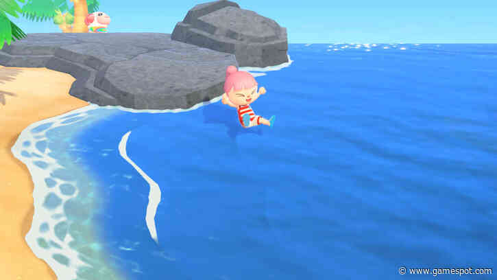 Animal Crossing - Here's How Swimming Works