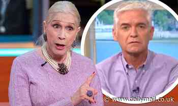 Lady Colin Campbell says Phillip Schofield 'shoved her' at show