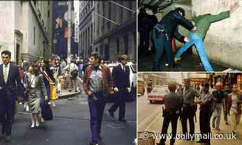 Photos show crime-ridden New York City in the 70s and 80s