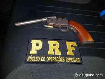 PRF prende homem suspeito de tentar assaltar caminhoneiros em Joaquim Gomes, AL - G1