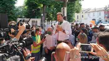 """Salvini a Codogno: """"Grazie a Mattarella per visita, gesto che ha fatto giustizia"""" - IL GIORNO"""