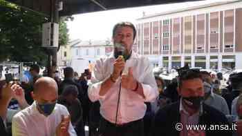 """Coronavirus, Salvini a Codogno: """"Grazie Mattarella per gesto"""" - Italia - Agenzia ANSA"""