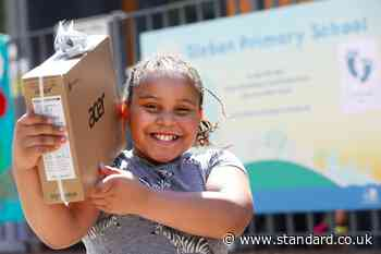 £100,000 project in Tower Hamlets gives children free laptops and broadband - Evening Standard