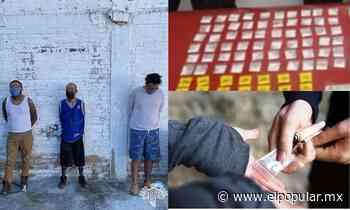 Captura a 3 presuntos narcomenudistas en Ajalpan - El Popular