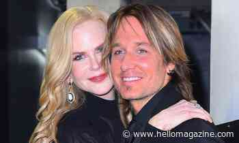 Nicole Kidman's husband Keith Urban reveals exciting news during lockdown - HELLO!