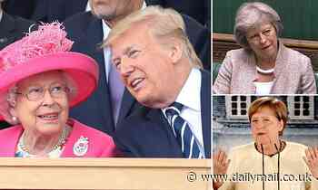 Trump talks to Queen Elizabeth after  leak revealed his 'delusional' calls with world leaders
