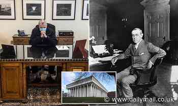 New Jersey Gov. Phil Murphy ditches desk once used by Woodrow Wilson