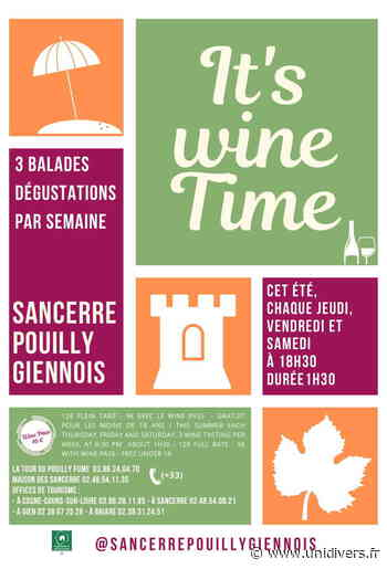 It's wine Time Pont-Canal vendredi 10 juillet 2020 - Unidivers