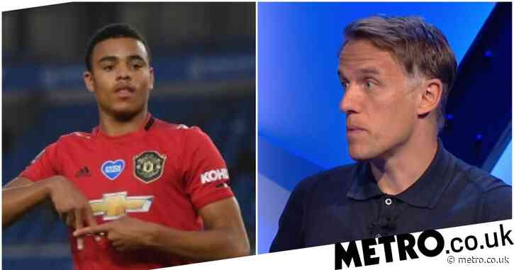 Phil Neville reveals the major difference between Mason Greenwood compared to Anthony Martial & Marcus Rashford