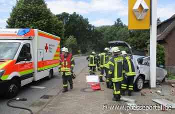POL-STD: 21-Jähriger bei Verkehrsunfall auf der B73 in Buxtehude-Hedendorf schwer verletzt - Presseportal.de