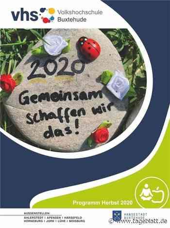 Corona-Krise inspiriert neues Programm der VHS Buxtehude - TAGEBLATT - Lokalnachrichten aus der Stadt Buxtehude. - Tageblatt-online