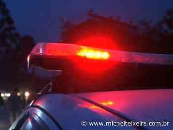 PM registra acidente no trevo de acesso a Piratuba, em Capinzal - Michel Teixeira