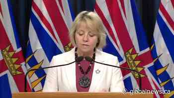 Dr. Bonnie Henry outlines new rules for visiting B.C. long-term care homes