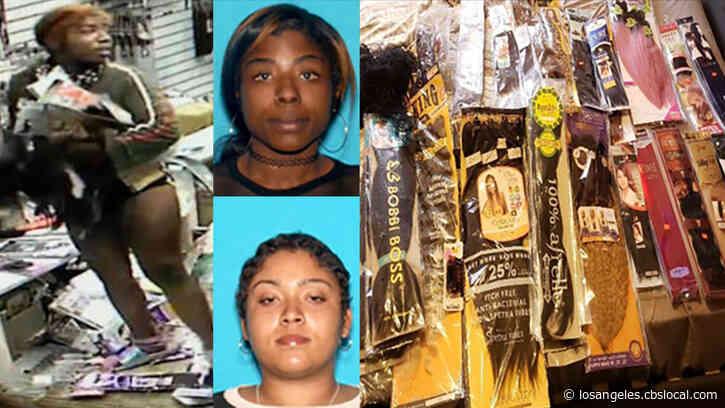 2 More Women Arrested In Looting Of San Bernardino Beauty Supply Store