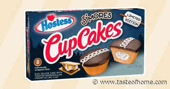 Hostess Is Rolling Out New S'Mores Cupcakes