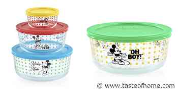 Pyrex Is Selling a Special Edition Mickey Mouse Collection