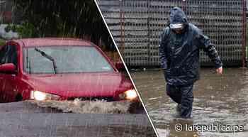 Lluvias en Chile: Últimas noticias sobre el Sistema Frontal en Santiago, Maipú y otras zonas del país - LaRepública.pe