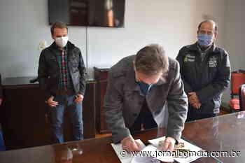 Erechim assina contrato para obra na comunidade de Capoerê - Jornal Bom Dia