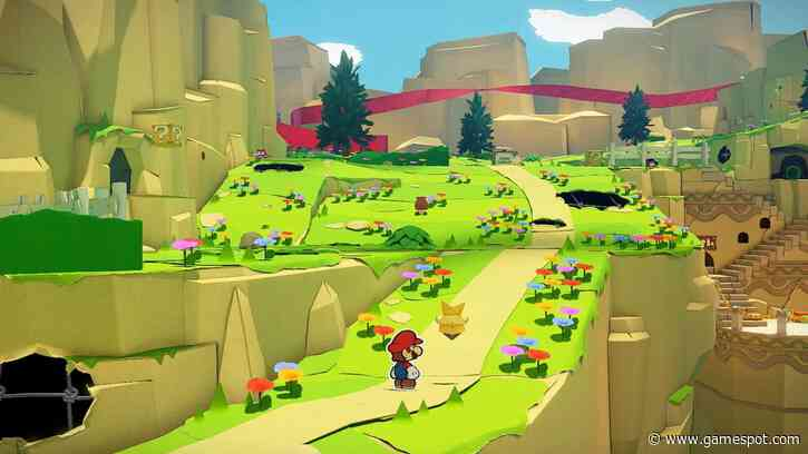 Paper Mario: The Origami King Will Feature A Seamless Open-World