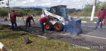 Recapeamento do Anel Viário recebe reparo em Pindamonhangaba - Vale News