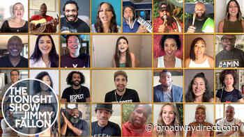 "Watch Now: Original Hamilton Cast Sings ""Helpless"" on Jimmy Fallon - broadwaydirect.com"