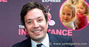 Jimmy Fallon Lets Daughters Crash Interviews Despite Normally Keeping Them 'Out of the Public Eye' - Us Weekly