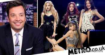 BLACKPINK smash Jimmy Fallon performance as How You Like That breaks records - Metro.co.uk