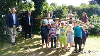 Für Garten-Projekt: Lions Club Elmshorn spendet 4000 Euro an DRK-Kindergarten   shz.de - shz.de