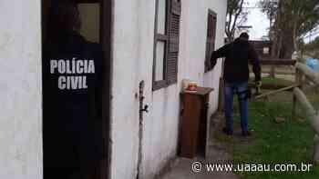 Polícia Civil de Turvo Prende Traficante - Uaaau