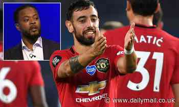 Manchester United legend Patrice Evra delighted with Bruno Fernandes after match-winning display