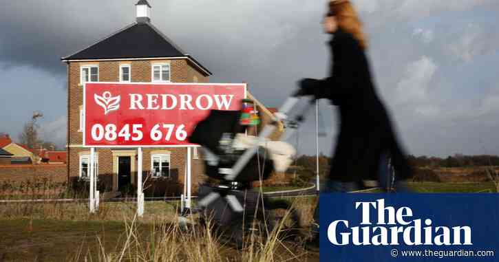 Redrow shifts its housebuilding focus away from London - The Guardian
