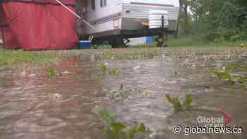 Wet weather clears out some Alberta campgrounds for Canada Day