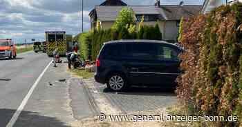 Unfall in Wachtberg-Arzdorf: Kradfahrer (19) mit Hubschrauber transportiert - General-Anzeiger Bonn