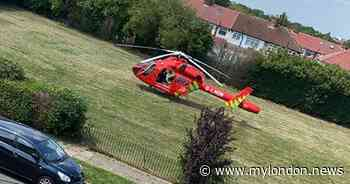 Air ambulance lands in Hounslow after person found injured in a home - MyLondon